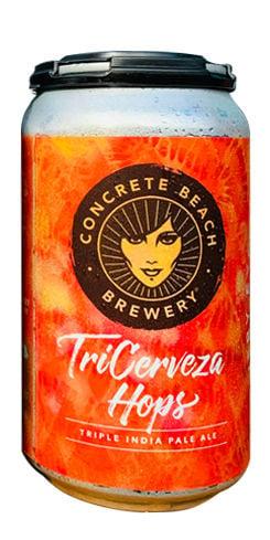 TriCerveza Hops, Concrete Beach Brewery