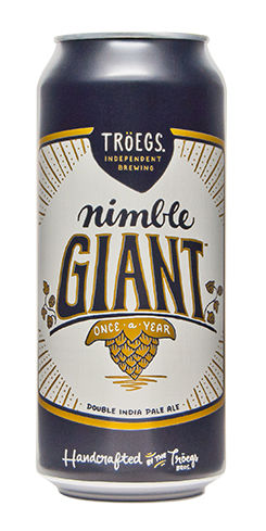 Troegs Beer Nimble Giant Double IPA