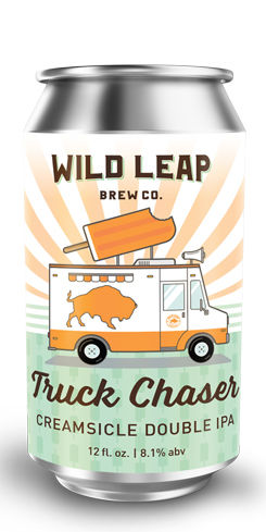 Truck Chaser Creamsicle Double IPA, Wild Leap Brew Co.