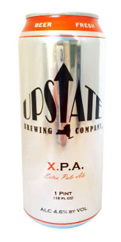 Upstate beer XPA pale ale