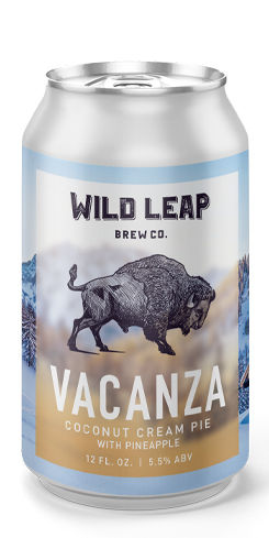 Vacanza Coconut Creme Pie, Wild Leap Brew Co.