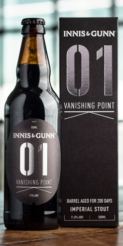 Vanishing Point 01 Barrel Aged Imperial Stout by Innis & Gunn