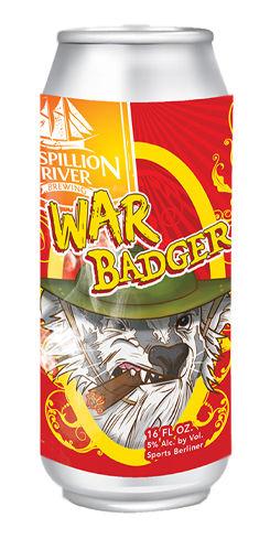 War Badger, Mispillion River Brewing