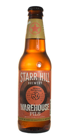 Warehouse Pils By Starr Hill Brewery