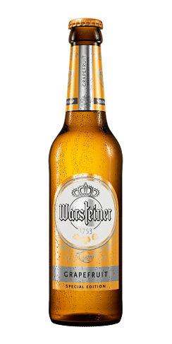 Warsteiner Grapefruit Radler beer