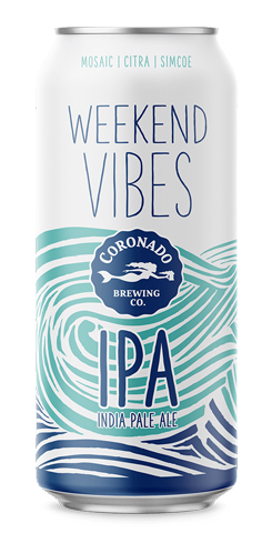 Weekend Vibes IPA, Coronado Brewing Co.