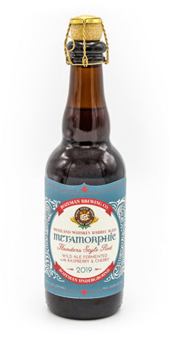 Westland Whiskey Barrel Aged Metamorphic Flanders Style Red w/Raspberry and Cherry, Bozeman Brewing Co.