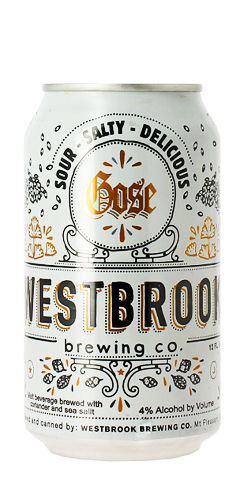 Westbrook Brewing Gose beer