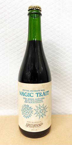 Wine Barrel Aged Magic Trait, Speciation Artisan Ales