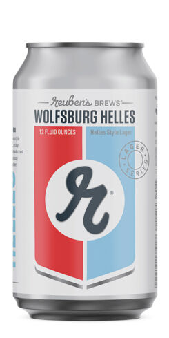 Wolfsburg Helles, Reuben's Brews