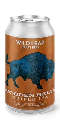 Wooden Helix Triple IPA, Wild Leap Brew Co.
