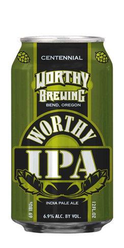 Worthy Brewing IPA Beer