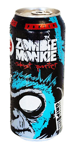 Zombie Monkie Robust Porter Tallgrass Beer