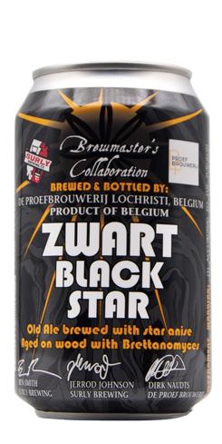 Zwart Black Star by De Proefbrouwerij
