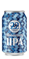 22nd Anniversary Imperial IPA, Coronado Brewing Co.