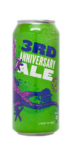 Roughtail 3rd Anniversary Ale Double IPA beer