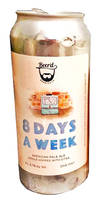 8 Days a Week Beer'd Brewing Co.