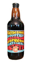 Bull and Bush beer Genessee Mountain Rainbow Espresso Oatmeal Stout