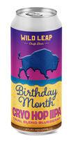 Birthday Month Blueberry Cryo Hop IIPA, Wild Leap Brew Co.
