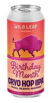 Birthday Month Mango Cryo Hop IIPA, Wild Leap Brew Co.