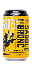 Saddle bronc brown ale black tooth beer