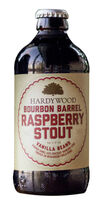 Bourbon Barrel Raspberry Stout with Vanilla Beans, Hardywood Park Craft Brewery