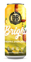Bright Pineapple Sparkling Ale, Devils Backbone Brewing Co.