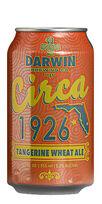 Circa 1926 Tangerine Wheat, Darwin Brewing Co.
