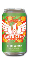 Citras Maximus India Pale Lager, Gate City Brewing Co.