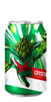 Crystal Hero beer Revolution Brewing IPa