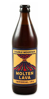 Double Mountain brewery Molten Lava Double IPA beer