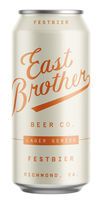 East Brother Festbier, East Brother Beer Co.