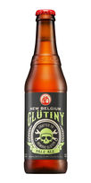 glutiny pale ale new belgium beer
