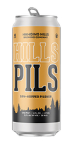 Hills Pils, Hanging Hills Brewing Co.