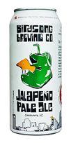 Jalapeño Pale Ale birdsong beer