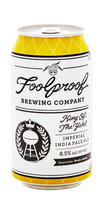 Foolproof Beer King of the Yahd Imperial IPA