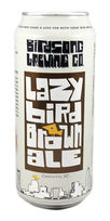 birdsong beer lazy bird brown ale