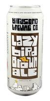 birdsong beer lazy bird brown ale