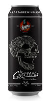 Los Guerreros Mexican Lager, Alosta Brewing Co.
