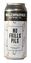 No Frills Pils, Wallenpaupack Brewing Co.