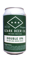 Ozark Beer Company Double IPA can