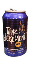 Grey Sail Brewing Pour Judgement IPA beer
