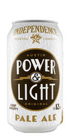 Independence Brewing Power & Light beer