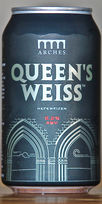 Queen's Weiss by Arches Brewing