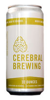 Cerebral Brewing Rare Trait IPA beer crowler