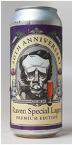 20th Anniversary Raven Special Lager Premium, RavenBeer