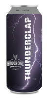 Thunderclap Double IPA by Hidden Cove Brewing Co.