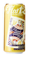 Flat 12 Bierwerks Upside Down Blonde beer