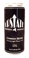 upstate brewing common sense beer