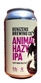Animal Hazy IPA, Denizens Brewing Co.